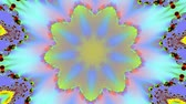 psychedelic pattern : Yellow kaleidoscope