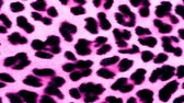 kürk : Pink animal print fur background