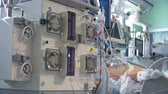 Continious Dialysis Medical Procedure Performing in ICU with Patient on background