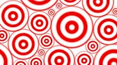 Hypnotic Circles For Veejay Background Loop Animation loop of an hypnotic abstract multiple spiral background with red rings and circles