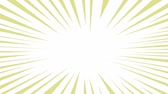 sunbeams : Comic Book Power Blast Loop Animation of a comic book blasting explosion loopable