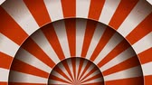 cortina : Animation Of Vintage Abstract Circus Background Seamless looped animation of a vintage abstract circus background rotation, with shadow circles, sunbeams and soft grunge texture
