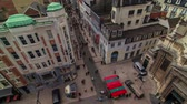 bruxelas : v31. City pedestrian traffic time lapse of busy Brussels shopping streets. Stock Footage