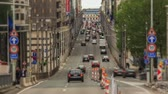 bruxelas : v42. City traffic time lapse in Brussels.