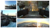 yolcu : v14. Video montage of Seattle Ferry related media. Loopable.