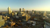 v37. Atlanta aerial with cityscape view. Stock Footage