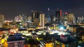 life : v116. Panama cityscape time lapse at night.
