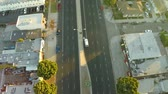 belo : v11. Low flying LA aerial over Venice Blvd looking down.