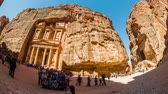 jordanian : Petra Time Lapse v2 Panning time lapse of ancient Petra site.
