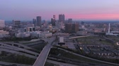 кубик льда : Atlanta Aerial v240 Flying low around old archives building before being imploded in early morning 3517