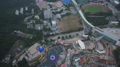wong chuk hang : Hong Kong Aerial v158 Birdseye view flying over Ocean Park area