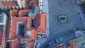 mavic : Czech Republic Prague Aerial v10 Birdseye flying low around Old Town Square 817
