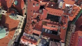 mavic : Czech Republic Prague Aerial v24 Vertical view flying low over Old Town area 817