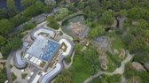 suaygırı : Germany Berlin Aerial v5 Birdseye flying low around Zoo area 817