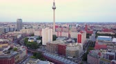 mavic : Germany Berlin Aerial v27 Flying low around Hackescher Market area with cityscape views 817