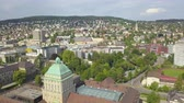 mavic : Switzerland Zurich Aerial v27 Flying low around University buildings and campus 817