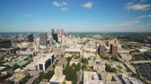 interestadual : Atlanta Aerial v359 Flying low over Capital building area sunny cityscape 1117