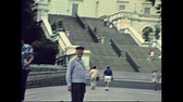 конгресс : Washington DC, United States - in 1980: west staircase of Capitol building in 1980s. Home of the United States Congress. The historical United States in year 1980.