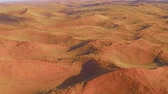 namib desert : panoramic flight on of the Sossusvlei desert in the Namib Naukluft National National Park of Namibia, Africa.