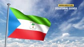 vlnit se : 3D flag animation of Equatorial Guinea