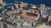 fontvieille : Aerial View Of The Different Districts Of Monaco