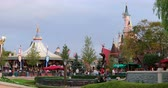 Marne-la-Vall?e, France - October 14, 2018: Fantasyland In Disneyland Paris Theme Park (Euro Disney), Fantasyland Is One Of The Themed Lands At All Of The Magic Kingdom. Ile-de-France, France, Europe - DCi 4K Resolution