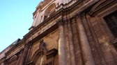 View of the Catania church called Church of the Abbey of SantAgata, Sicily