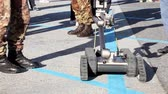 bomba : Heavy-duty, multi-mission robot suitable for missions such as explosive detec