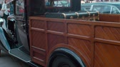 복원 : TRIESTE, ITALY - OCTOBER, 01: Fiat Balilla van exposed at the? National Day of the Vintage Vehicle