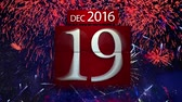 sparkler : Countdown calendar for the