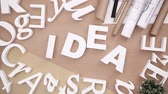 idea Stock Footage