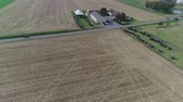 сарай : Amish Wedding in an Amish Farm Captured by a Drone