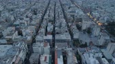 athény : Athens at dusk, aerial view