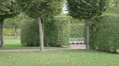 doolhof : Recreation park with ornamental garden, Landscape design. A place for rest and relaxation autumn