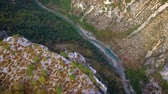 provence : Verdon Gorges canyon seen from above
