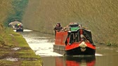 repousante : Narrow Boat Cruising on a Canal -  Shropshire Union Canal, Staffordshire, England
