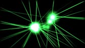 lazer : Green Laser Beams Stock Footage