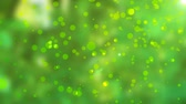 bez szwu : Green natural abstract motion background with lens flares