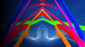 flare : Psychedelic Colorful Pop Art Abstract Motion Backgrounds For Music Videos Stock Footage