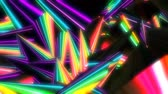 havoc : glowing neon abstract background