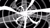 havoc : animated chaotic curves and lines abstract background