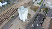 sklep : aerial survey of abandoned factory