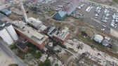 estragado : Drone footage of decaying factory