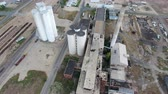 estragado : Aerial shots of abandoned factory
