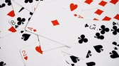 black jack : playing cards background, ace of Diamond