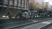 wagons : Railway wagon with cargo hd stock footage