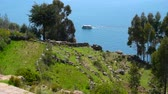 folk : Puno Trip on Lake Titicaca Peru Highest Lake