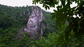 Face of Decebal in the Cliff of Romania