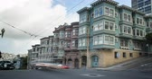 vitoriano : San Francisco Architecture. Classic Victorian and Edwardian homes in North Beach, San Francisco Vídeos