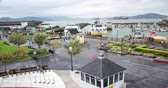 volný čas : Fishermans Wharf. Time Lapse view overlooking the #! tourist destination in San Francisco.